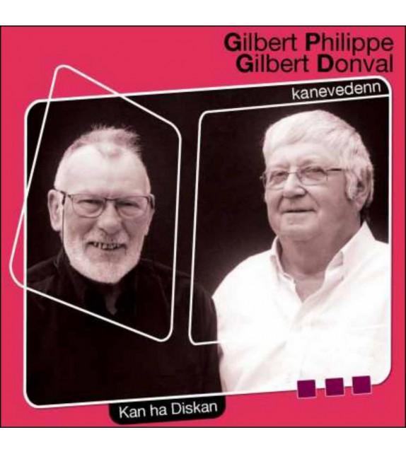 CD GILBERT PHILIPPE ET GILBERT DONVAL - Kanevedenn