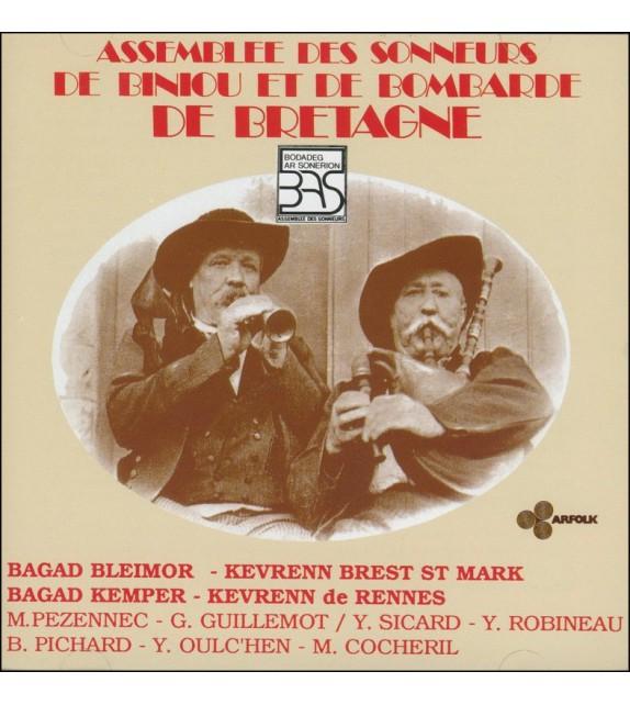 CD BODADEG AR SONERION - Assemblée des sonneurs de biniou et de bombarde de Bretagne
