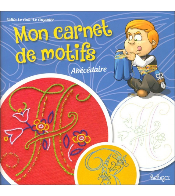MON CAHIER DE MOTIFS - ABECEDAIRE BRETON