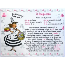 SET DE TABLE KOUIGN AMANN