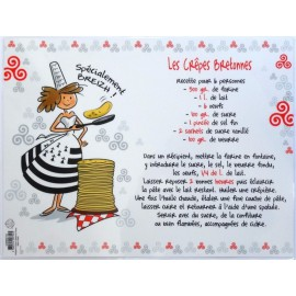 SET DE TABLE CRÊPES