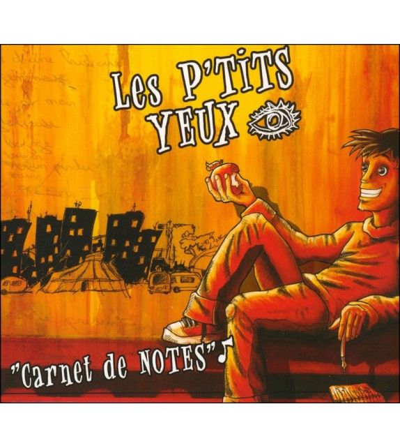 CD LES P'TITS YEUX - Carnet de notes