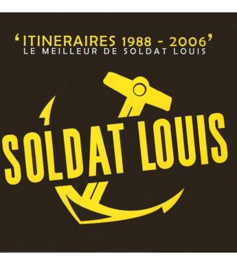 CD SOLDAT LOUIS - ITINERAIRE 1988-2006