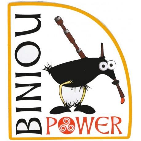 AUTOCOLLANT BINIOU POWER