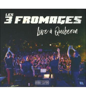 CD-DVD LES 3 FROMAGES - LIVE À QUIBERON