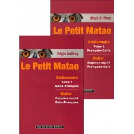 LE PETIT MATAO Dictionnaire gallo français - français gallo