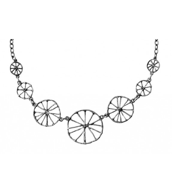 COLLIER ROUE SEPT ÉLÉMENTS - Toulhoat