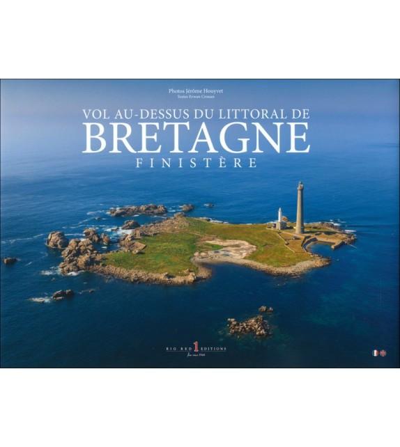 VOL AU-DESSUS DU LITTORAL DE BRETAGNE - FINISTÈRE