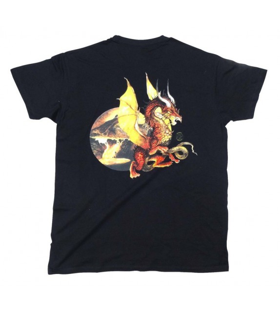 TEE SHIRT DRAGON CELTIQUE