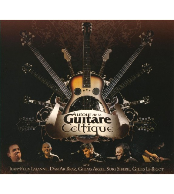 CD AUTOUR DE LA GUITARE CELTIQUE