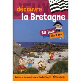 JEUX DÉCOUVRE LA BRETAGNE Volume 1 - 80 jeux dès 8 ans