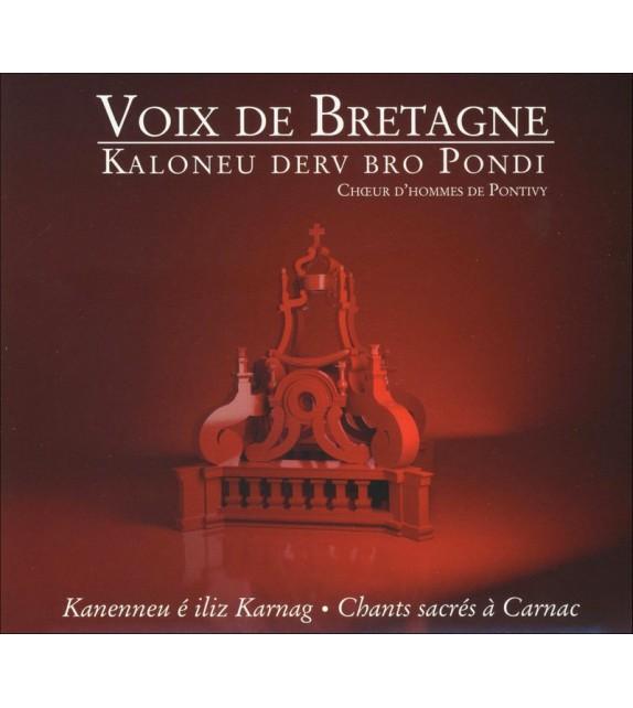 CD CHOEURS D'HOMMES DE PONTIVY - Voix de Bretagne chant sacré à Carnac