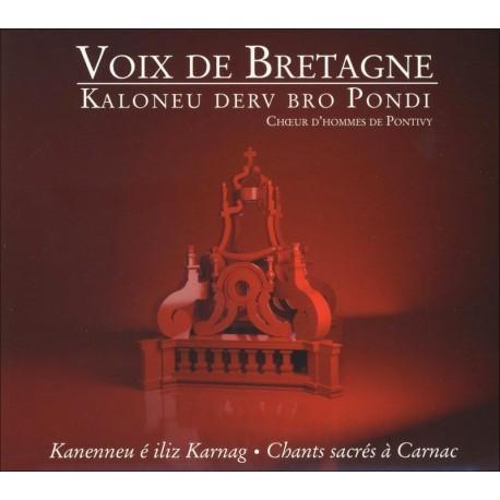 CD CHOEURS D'HOMMES DE BRETAGNE - Voix de Bretagne chant sacré de Bretagne