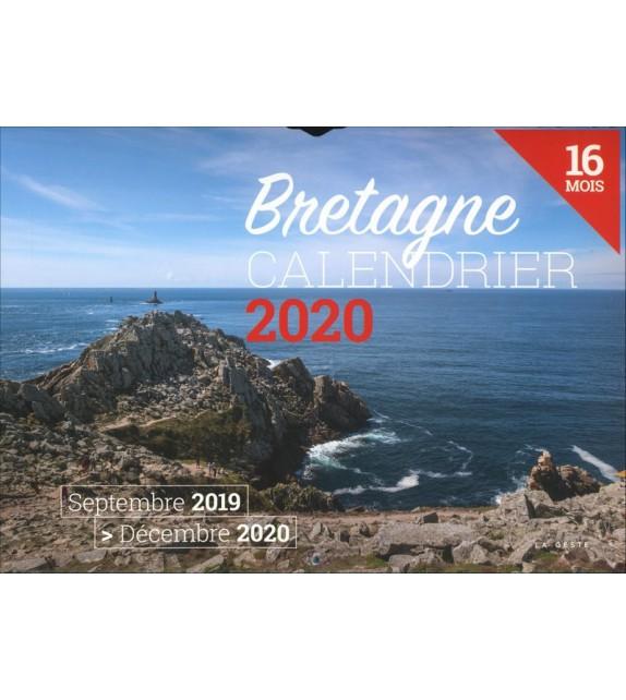 CALENDRIER DE LA BRETAGNE 2020