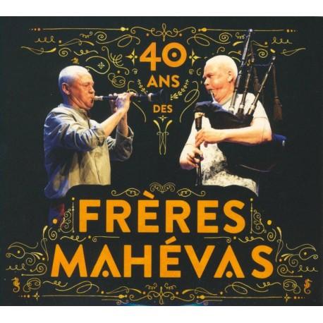 CD FRÈRES MAHÉVAS - 40 ans des Frères Mahévas CD + DVD
