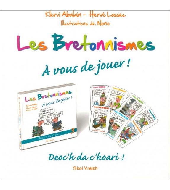 LES BRETONNISMES 3 - À vous de jouer (livre + coffret jeu)