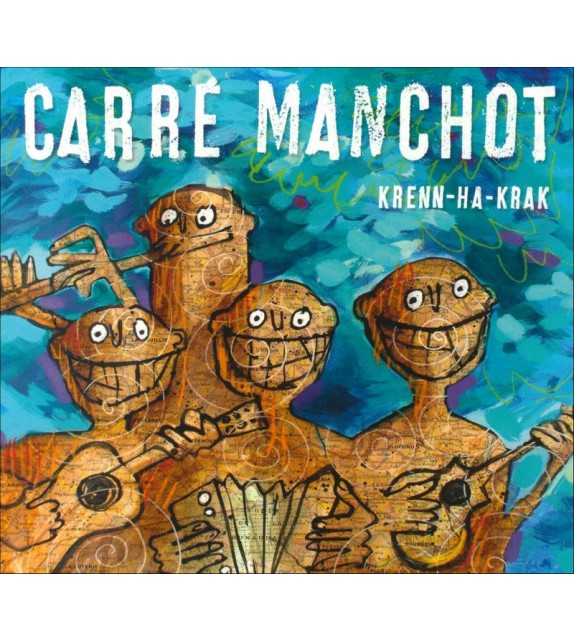 CD CARRÉ MANCHOT - Krenn-ha-krak