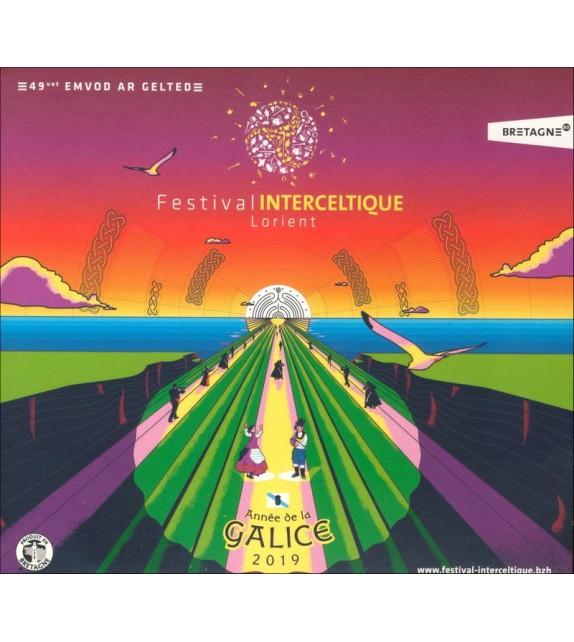 CD COMPILATION FESTIVAL INTERCELTIQUE 2019
