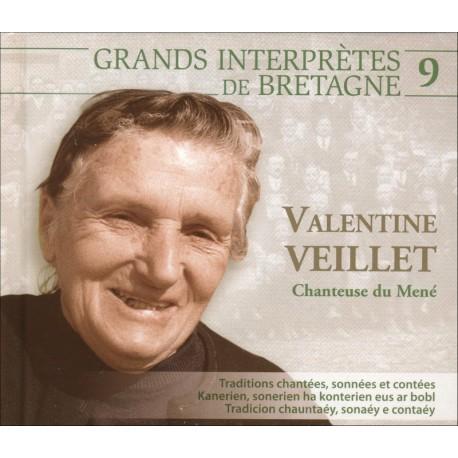 CD VALENTINE VEILLET - CHANTEUSE DU MENÉ
