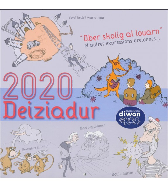 CALENDRIER DIWAN 2020