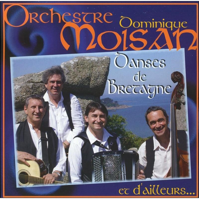 CD Dominique Moisan   Danses des Bretagne et d'Ailleurs   Country