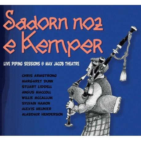CD SADORN NOZ E KEMPER - Live piping session at Max Jacob theatre