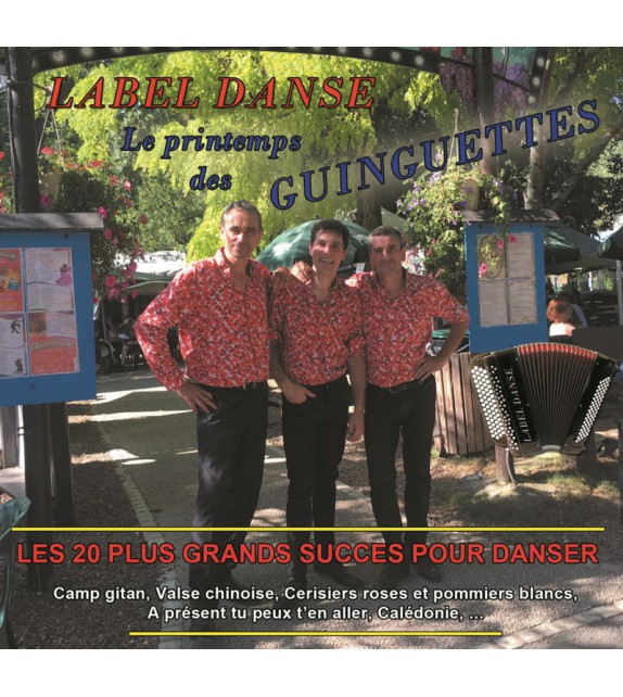 CD LABEL DANSE - Le printemps des guinguettes