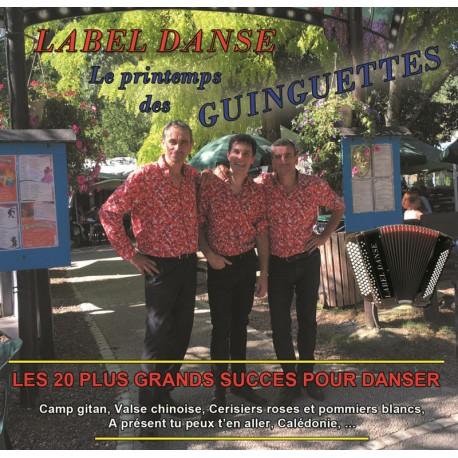 CD LABEL DANSE - Le printemps des guinguettes