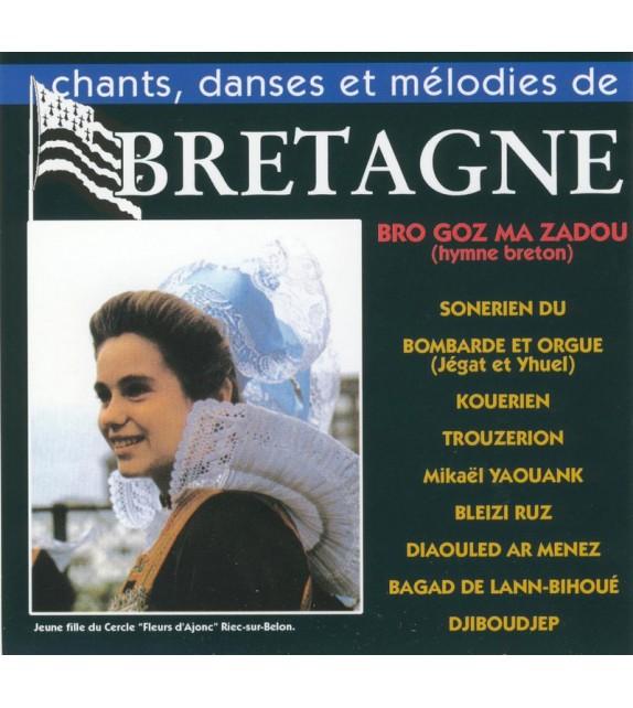 CD CHANTS, DANSES ET MÉLODIES DE BRETAGNE