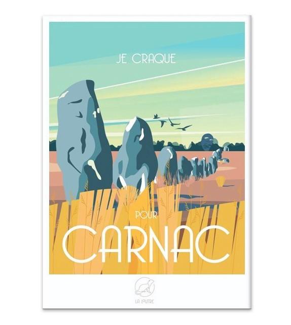 AFFICHE Carnac