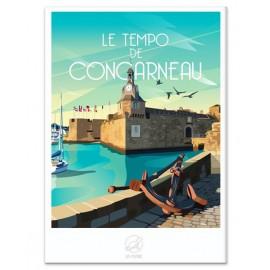 AFFICHE Concarneau