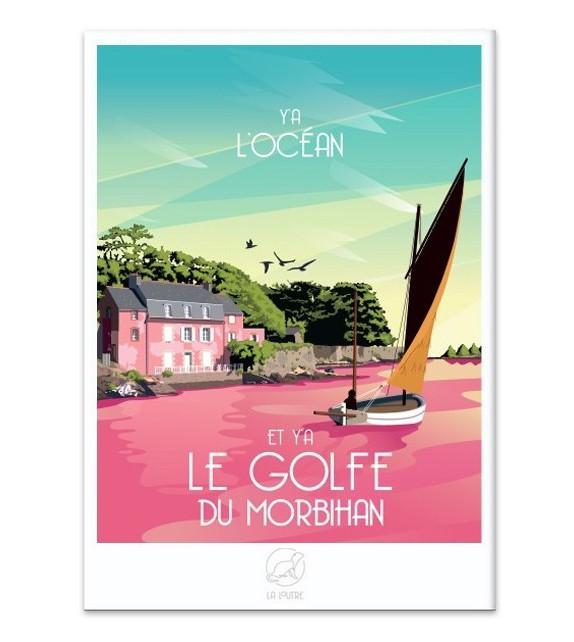 AFFICHE Le Golfe du Morbihan