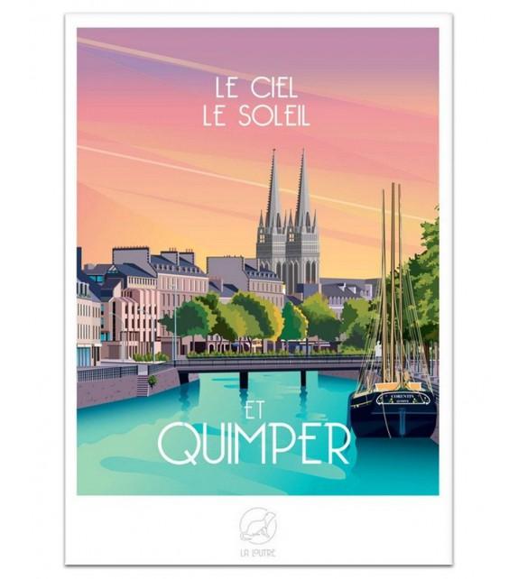 AFFICHE Quimper