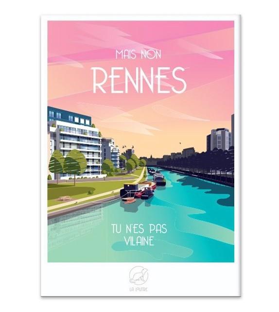 AFFICHE Rennes