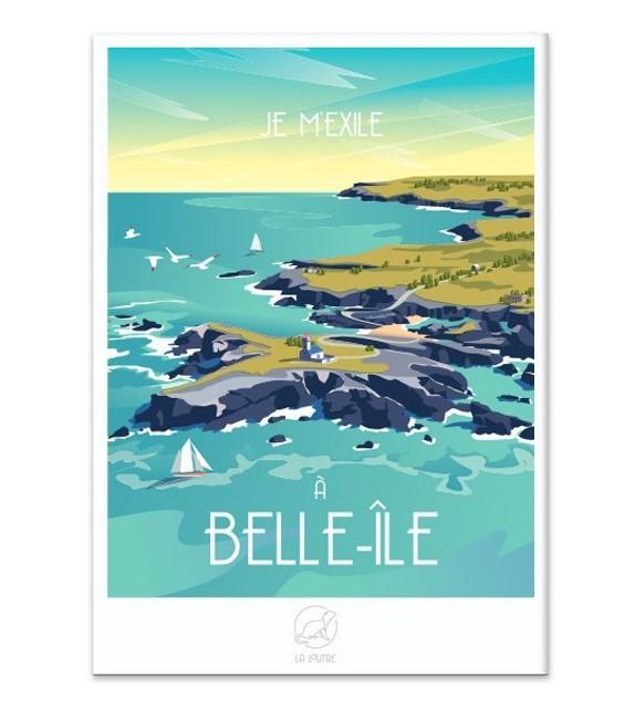 AFFICHE Belle-Île