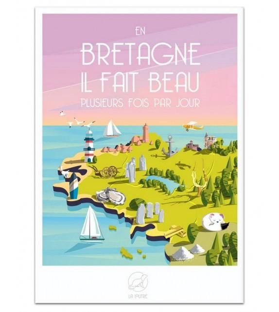 AFFICHE Bretagne