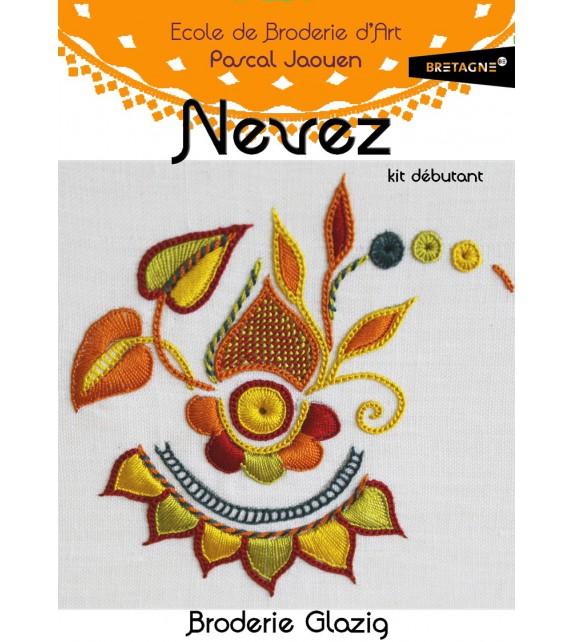 NEVEZ - Kit de broderie débutant - Glazig
