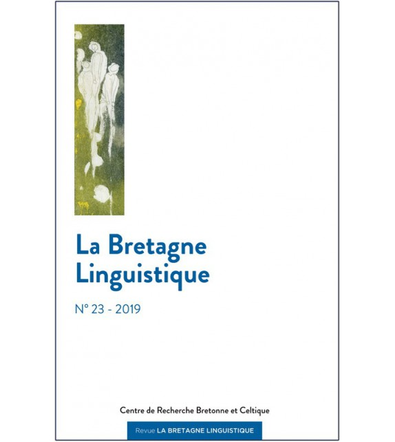 LA BRETAGNE LINGUISTIQUE - VOLUME 23 - 2019