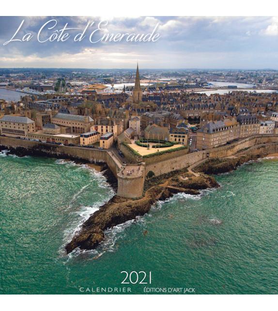 CALENDRIER 2021 CÔTE D'ÉMERAUDE