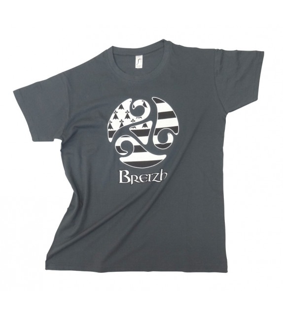 TEE SHIRT GRIS TRISKELL GHD