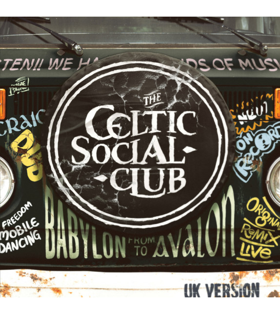 CD THE CELTIC SOCIAL CLUB - From Babylon to Avalon / UK version
