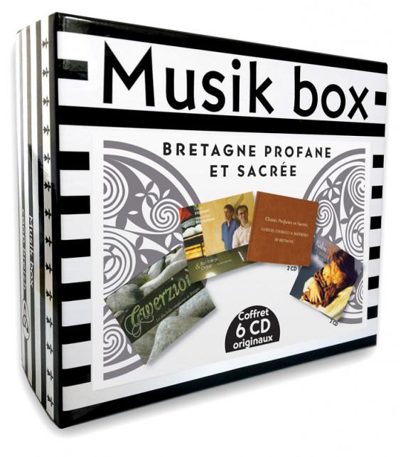 MUSIK BOX - Bretagne Profane et Sacrée - Coffret 6 CD