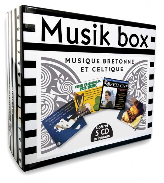 MUSIK BOX - Musique bretonne et celtique - Coffret 5 CD