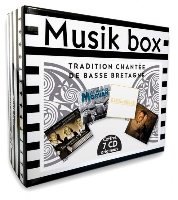 MUSIK BOX - Tradition Chantée de Basse Bretagne - Coffret 7 CD