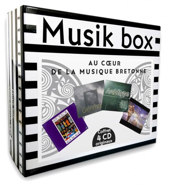 MUSIK BOX - Au Cœur de la Musique Bretonne - Coffret 4 CD