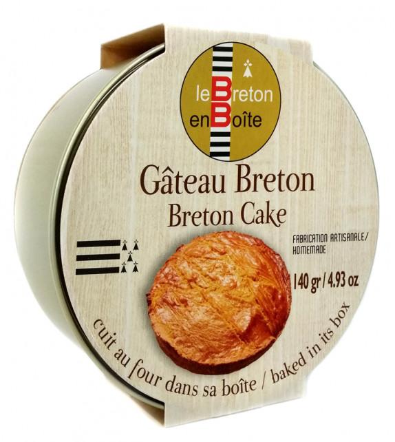 LE GÂTEAU BRETON EN BOÎTE
