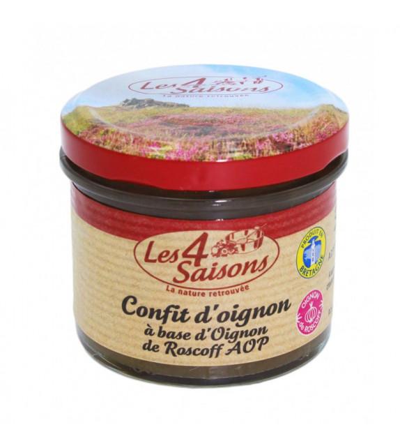CONFIT D'OIGNON - Aux oignons de Roscoff