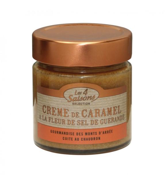 CRÈME DE CARAMEL, À la fleur de sel de Guérande