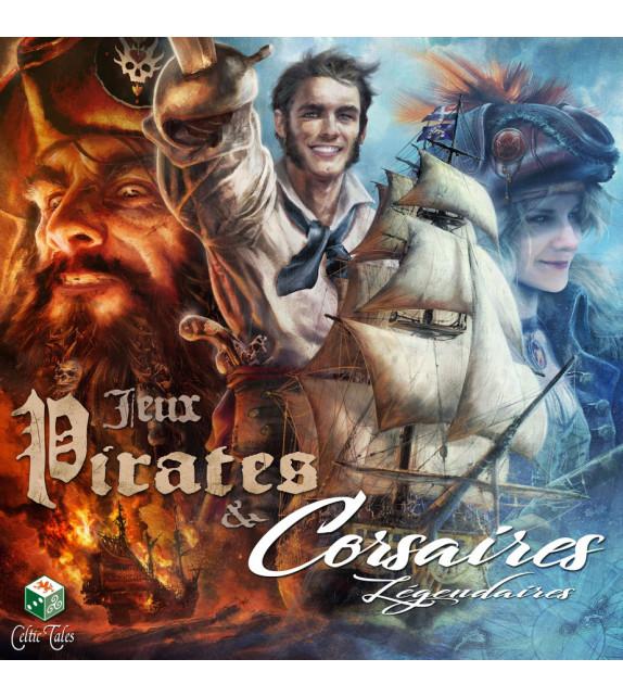 JEUX PIRATES & CORSAIRES LÉGENDAIRES - Coffret 4 jeux