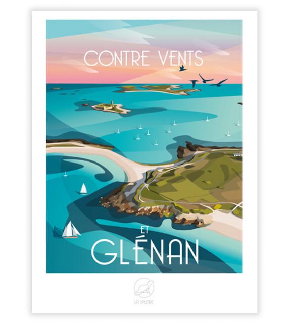 AFFICHE îles Glénan